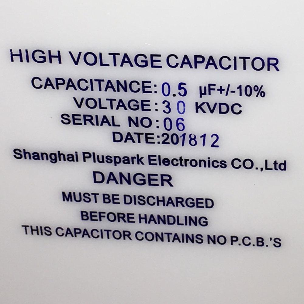 0.5uF 30kV Capacitor, High Voltage capacitor,Kondensator 30kV 500nF