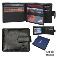 Genuine Leather Bifold Wallet For Men