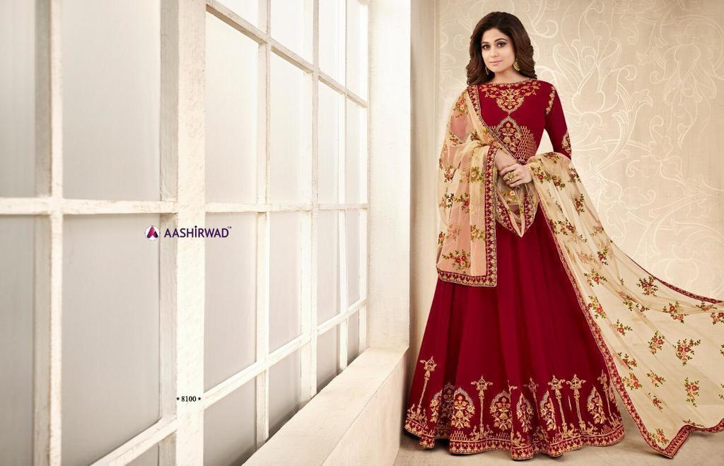 Latest Heavy Anarkali Suits