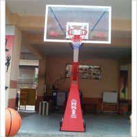 Moveable Basketball Pole