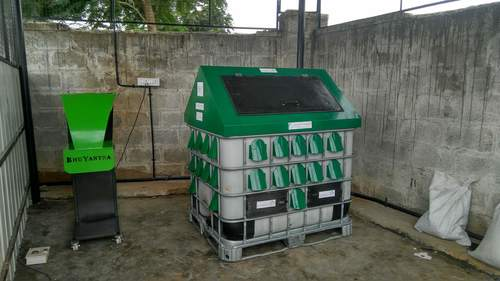 Agricultural Waste Composting Machine