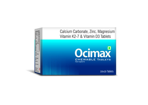 TRUWORTH OCIMAX TABLET  (CALCIUM CITRATE MALEATE , ZINC & MAGNESIUM TABLETS )
