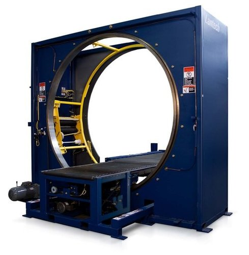Radial wrapping  machine