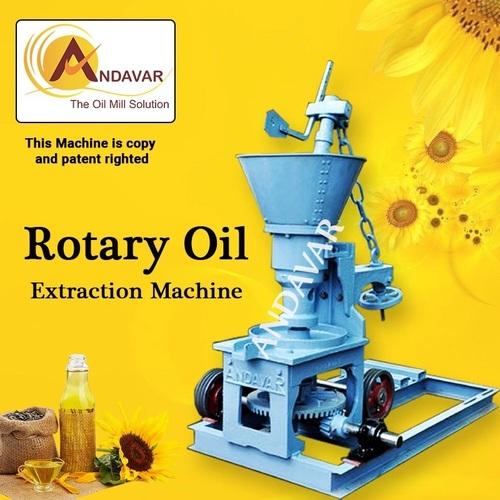 Groundnut Oil Rotary Machine