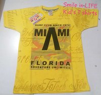 Kids T-shirts Smile in Life