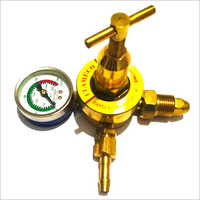 Oxygen Regulator Single Gauge