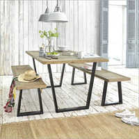 Dining Table With Bench