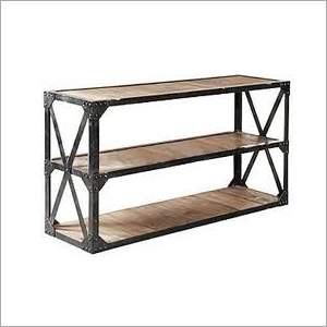 Iron Console Shelf