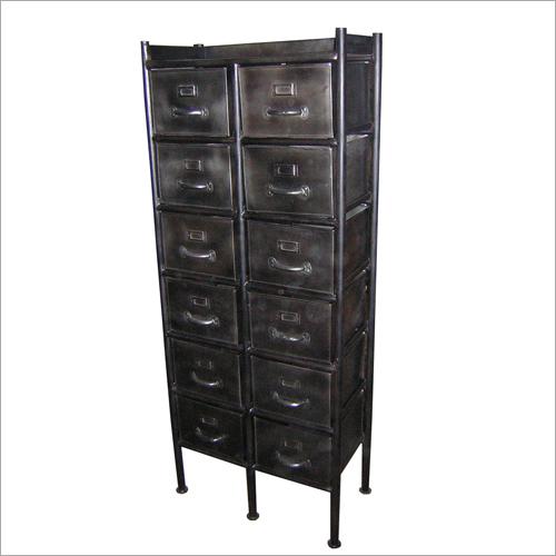 12 Drawer Iron Cabinet