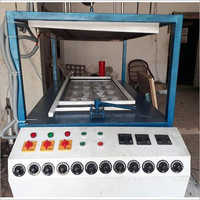 Semi Automatic Thermocol 8 Thali Making Machine
