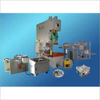 Aluminium Food Container Machine (Single Cavity)