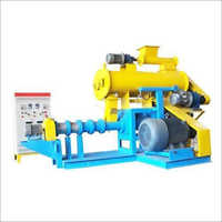 PVG Floating Fish Feed Pellet Extruder, Capacity 500-600 Kghr