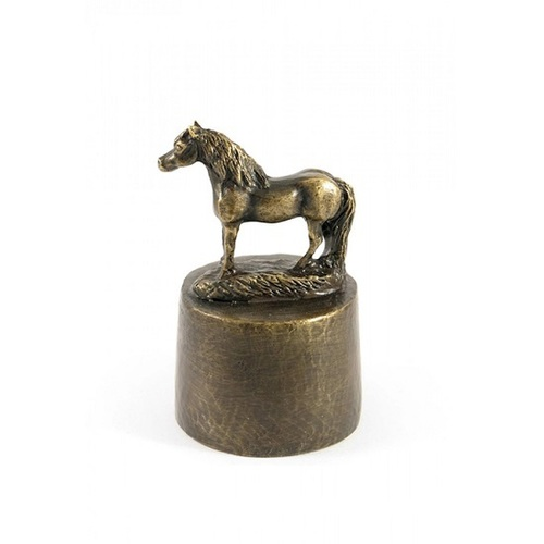 Horse Funeral Urn Bronzed