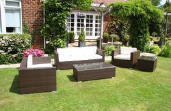 Garden Rattan Sofa Set