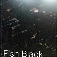 Fish Black Granite