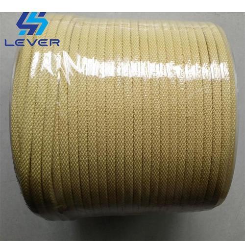 Aramid Fiber Kevlar Rope & Sleeves for glass tempering furnace