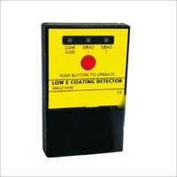 Low-E Coating Detector