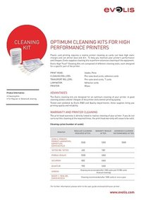 Adhesive Cleaning Card # ACL003 (Primacy & Zenius)