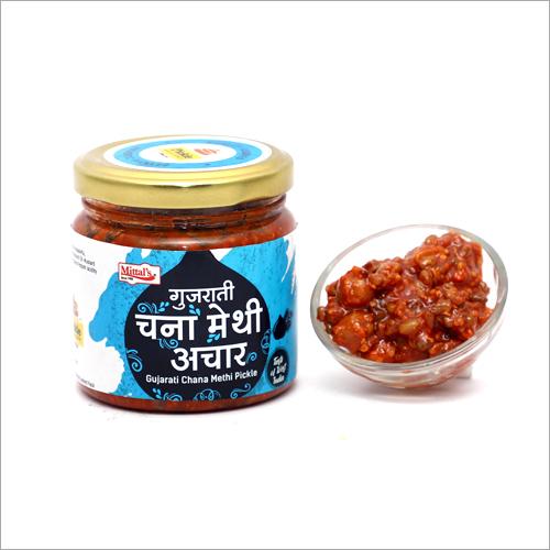 Gujarati Methi Chana Pickle