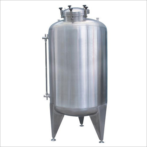 Stainless Steel Vertical Milk Tank