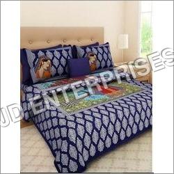 3D Silk Bedsheet