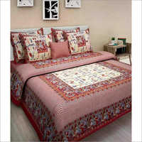 Jaipuri Sanganeri Cotton Bed sheet