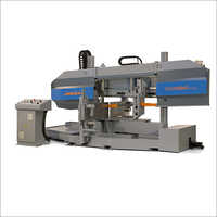 Semi Automatic Double Mitre Cut Bandsaw