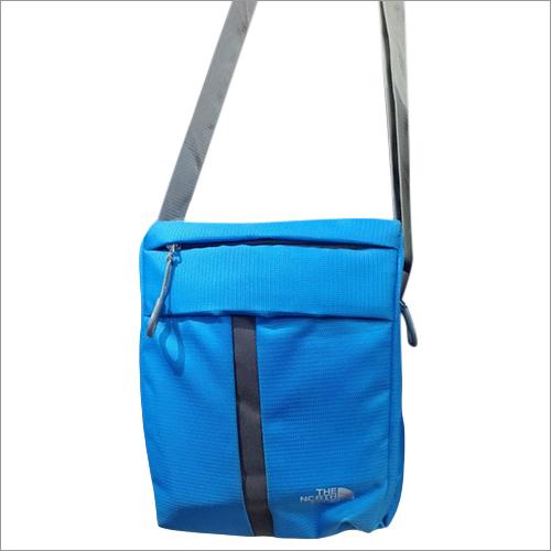 Mens Blue Sling Bag