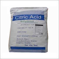 Citric Acid Monohydrate Powder