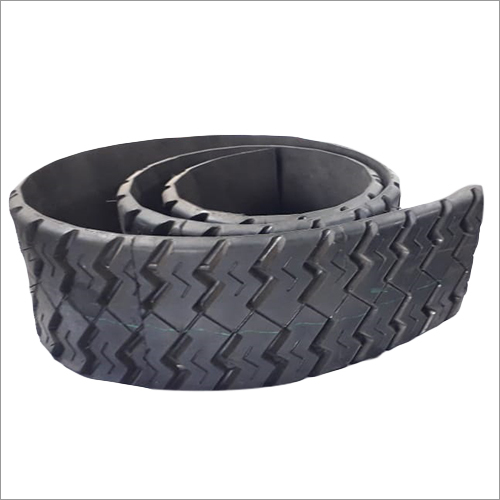 Precured Black Tread Rubber