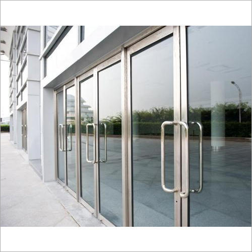 Industrial Aluminium Glass Door