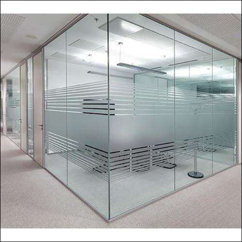 Toughened Glass Office Partitions