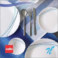 Cello 18 pcs Dinner Set – Cool Lines