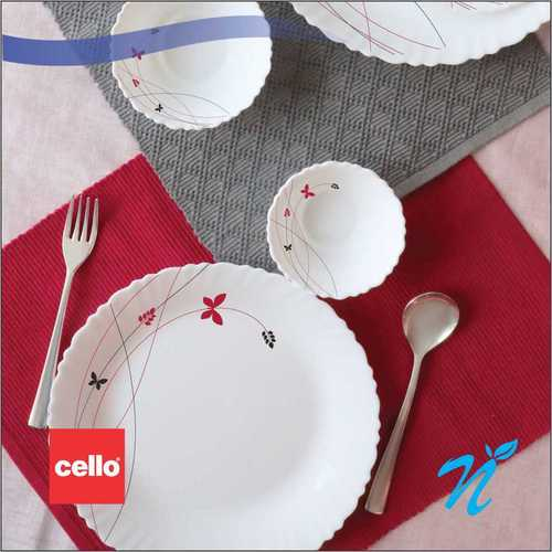 Cello 12 pcs Dinner Set Lush Fiesta