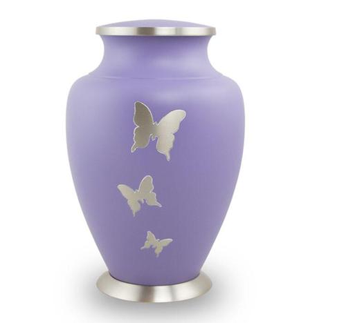 Brass Urns Area Butterfly