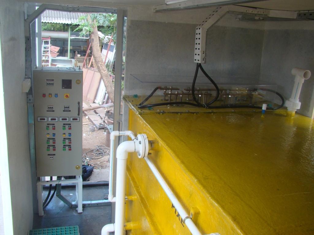Electrolytic Sewage Treatment Plant