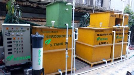 Sewage Treatment Plant for Hotels & Apartments