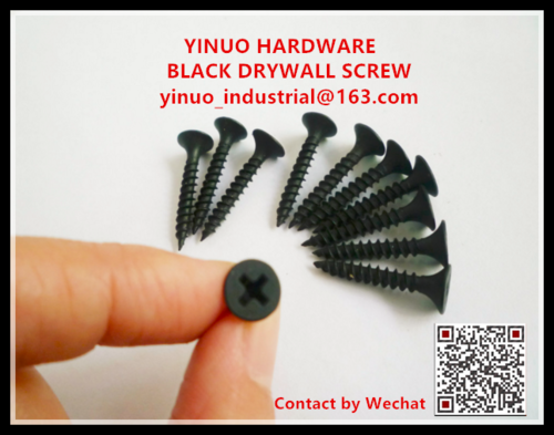 Black Phosphate Fine Thread Drywall Screw