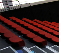 Vogue Telescopic Grandstand Seating