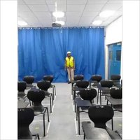 Training Room Partition Work