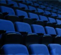 Indoor stadium seating