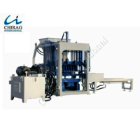 Semi-Automatic Interlocking Brick Machine