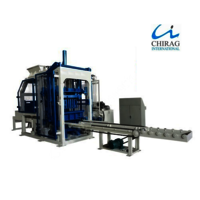 Semi Automatic Fly Ash Brick Press Machine