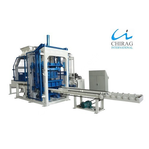 Semi Automatic Hydraulic Paver Block Making Machine