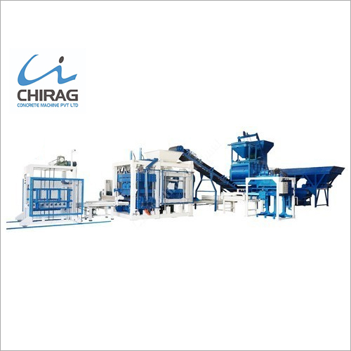 Multi Material Hydraulic Concrete Block Making Machine