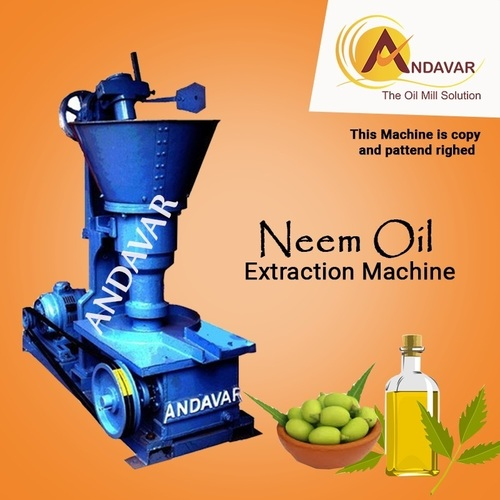 Cold Press Neem Oil Extraction Machine