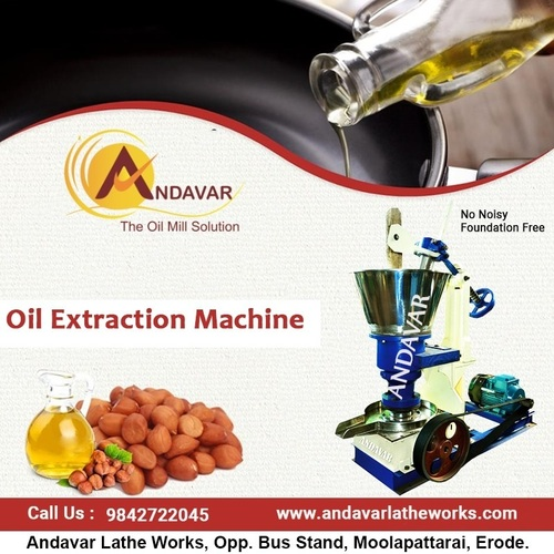 Cold Press Peanut Oil Extraction Machine