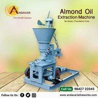 Cold Press Almond Oil Extraction Machine