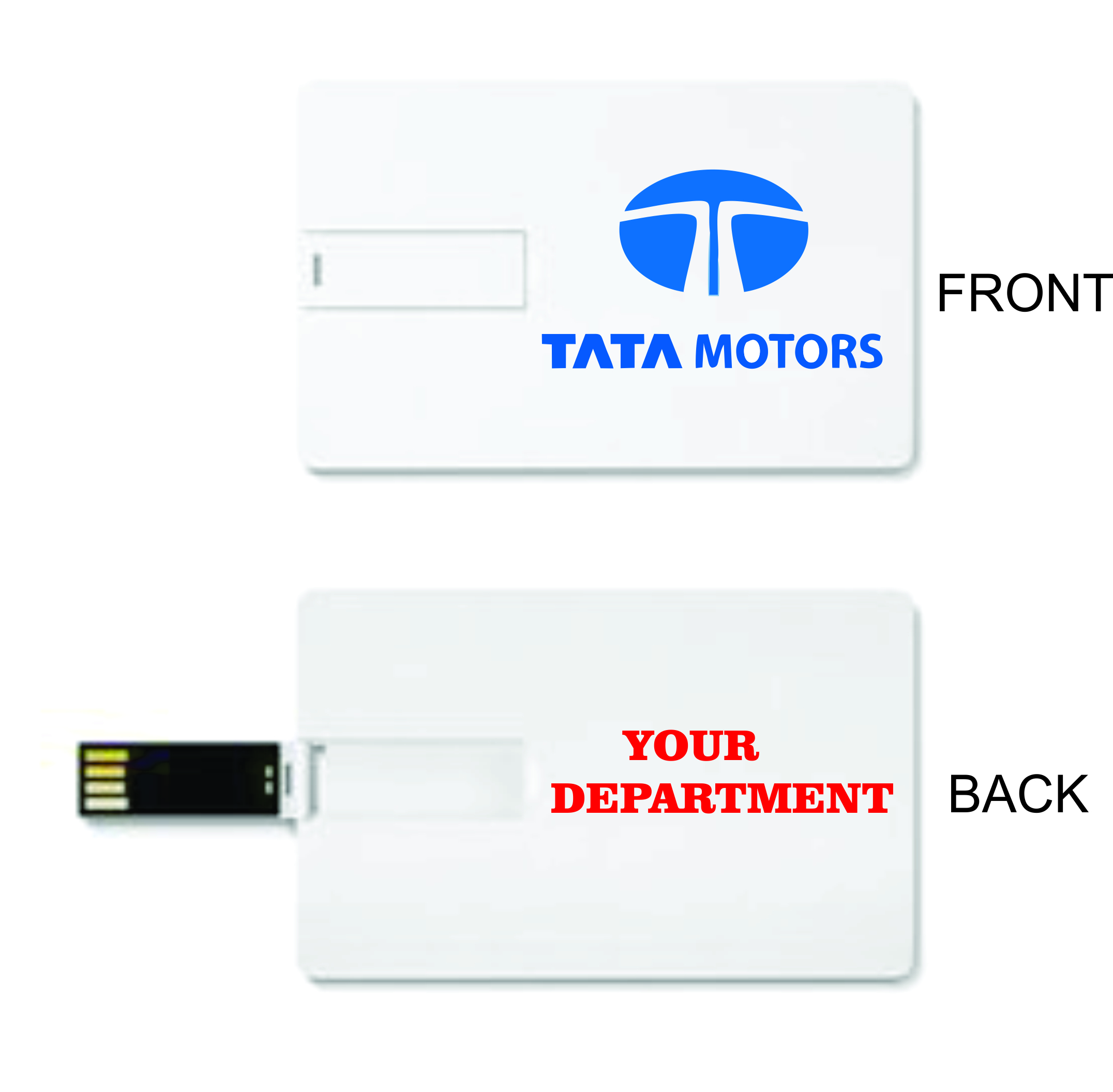 promotional credit card pendrives