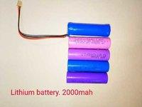 Lithium battery 2000mah